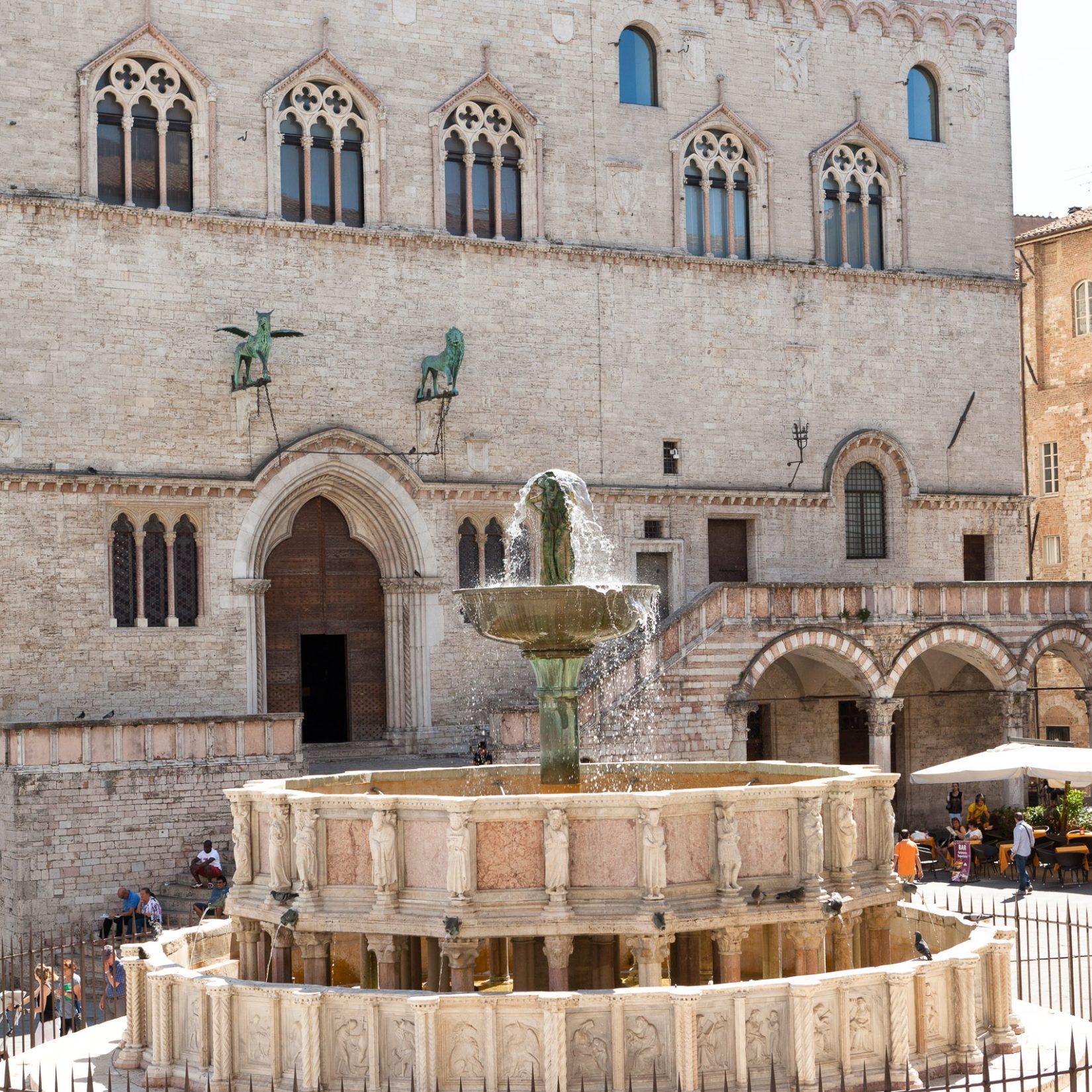 Fontana Maggiore - Perugia, Umbria - Articity